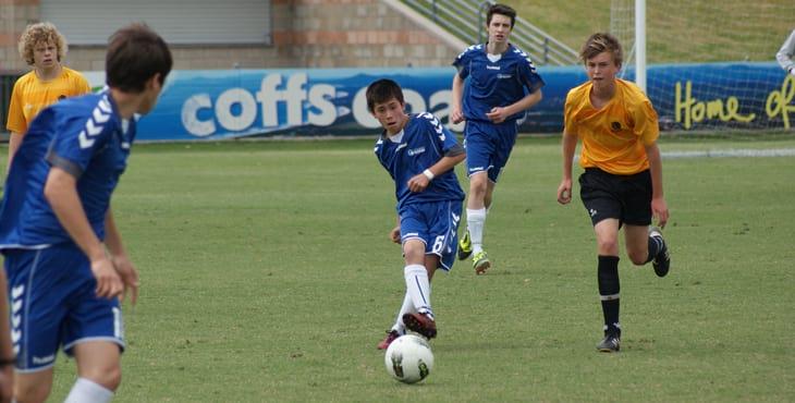 Australia Sydney Boys Soccer Match