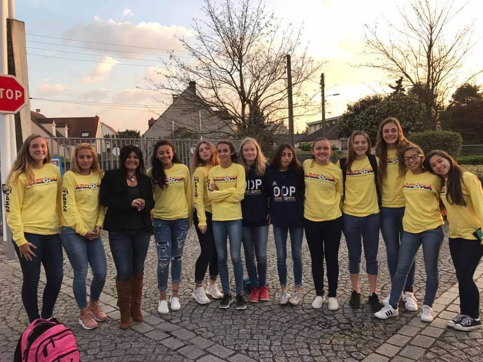 EXCEL SPORTS Paris soccer tour with Arizona ODP Girls