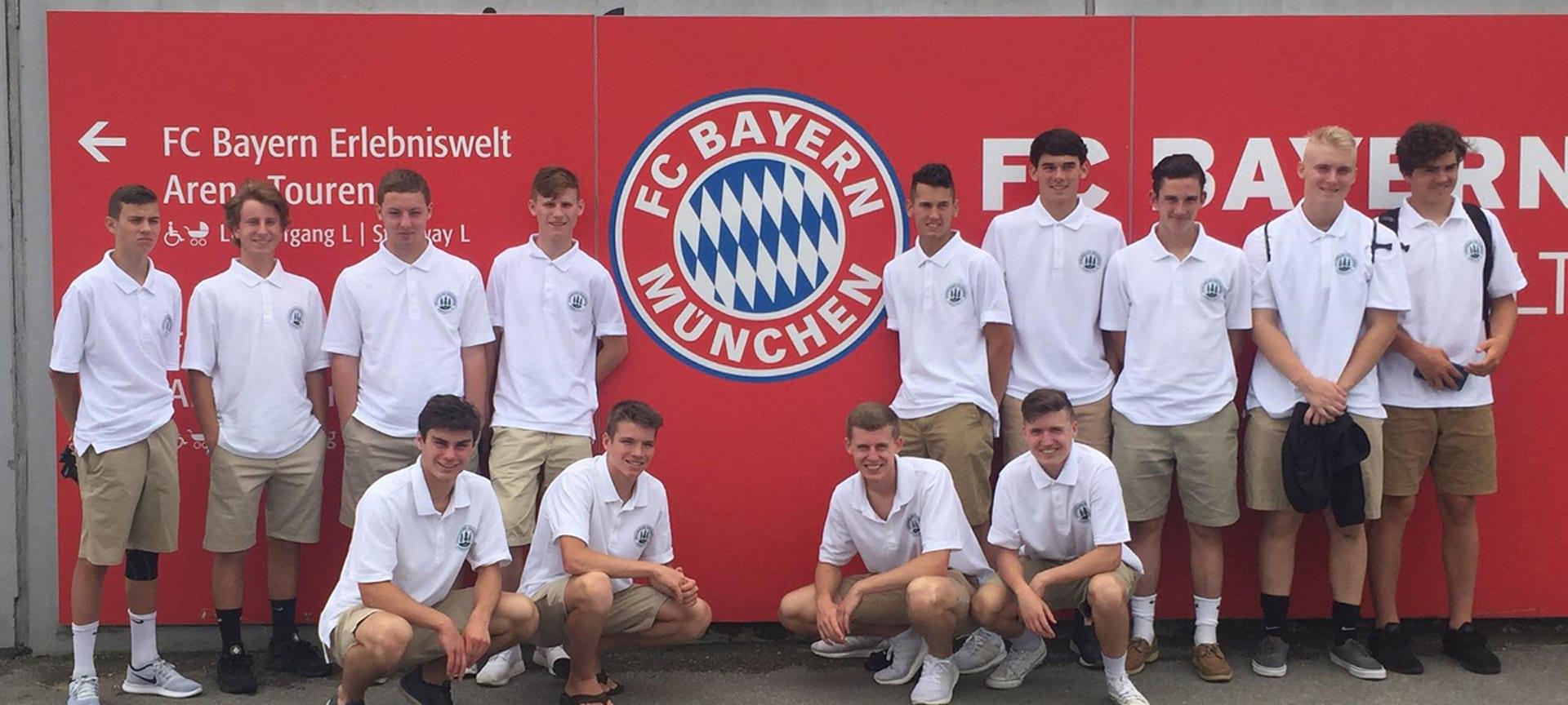Bayern Munich Stadium Soccer Tour