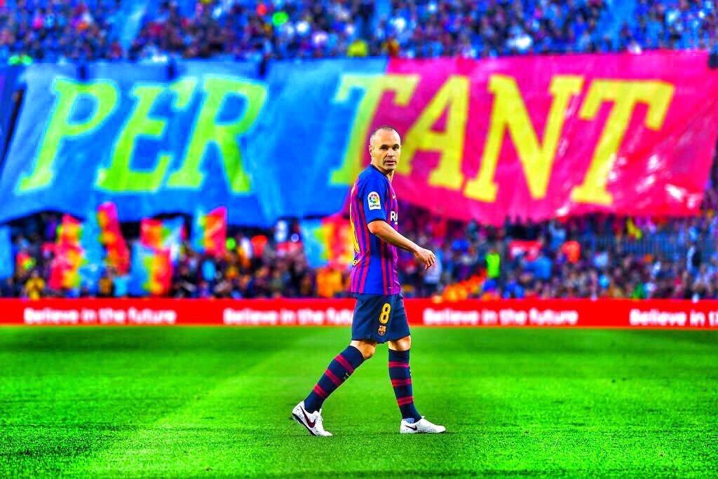 Iniesta's last game
